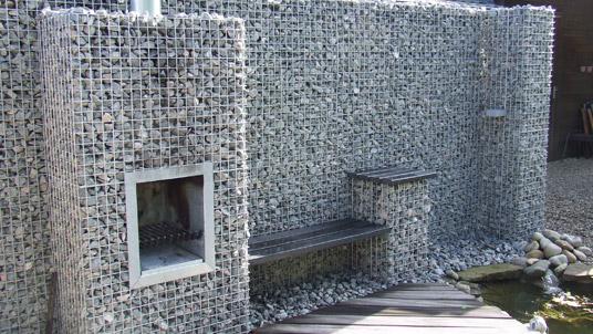 tuinhaard bbq dichte achterzijde zonder stenen Verkoelen Stones4U
